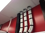 Suspended Ceiling Cable Penetration System (3) Hole